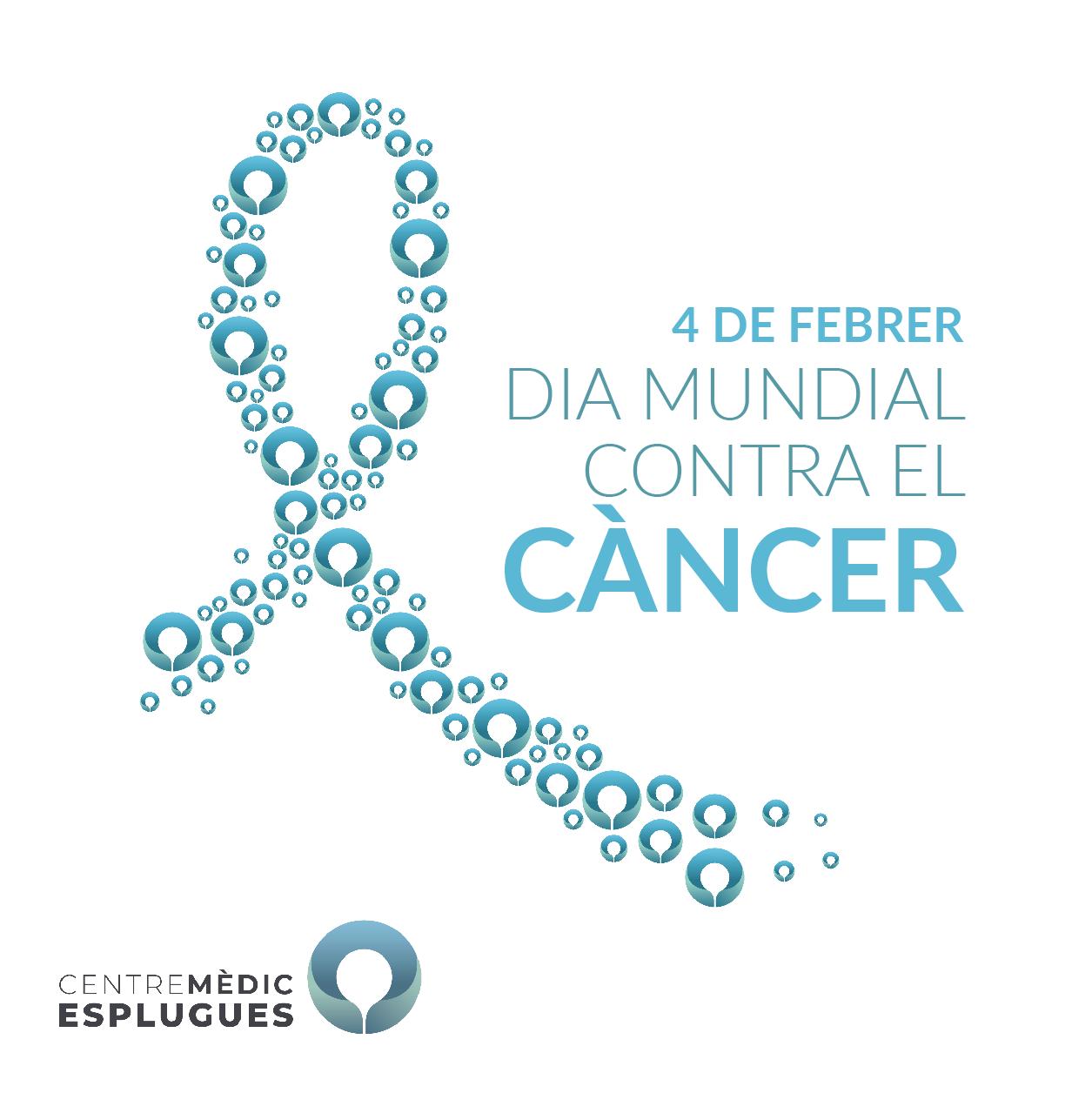 El 4 de febrero celebramos el día mundial de lucha contra el cáncer.